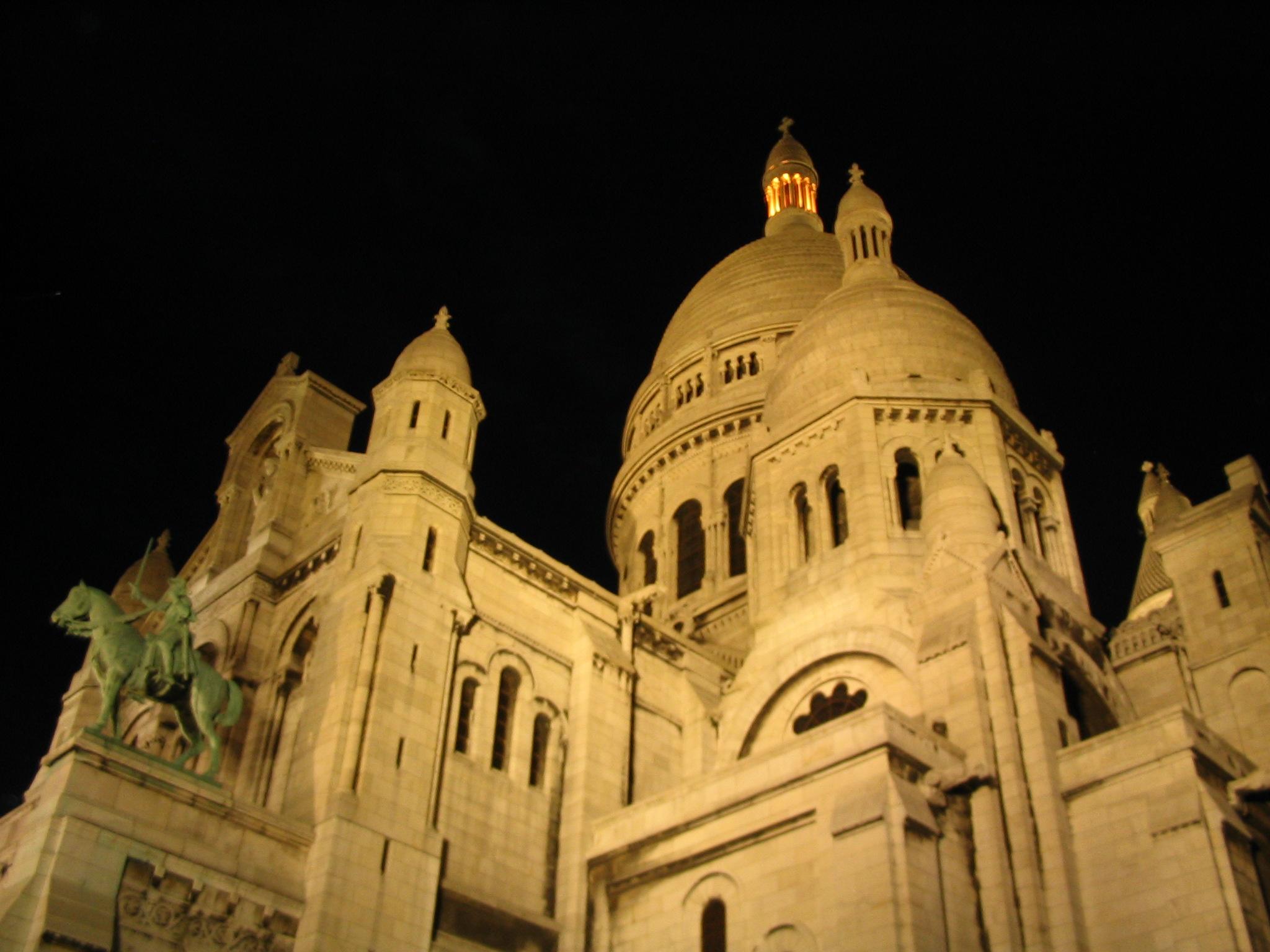 Sacre Coer, Paris, 2003